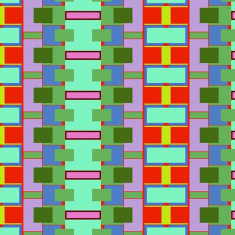 Mod Farmhouse Stripe fabric by boris_thumbkin on Spoonflower - custom fabric