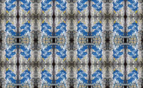 Bluebird of Happiness fabric by susaninparis on Spoonflower - custom fabric