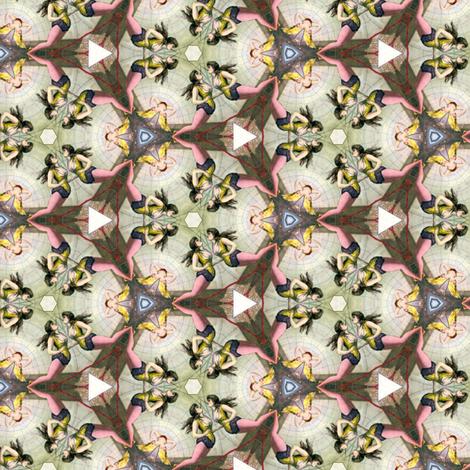Circus caleidoscope fabric by ravynka on Spoonflower - custom fabric