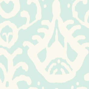 Ikat in Mint