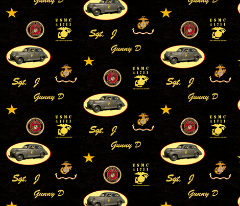 '41 for Sgt J fabric by cksstudio80 on Spoonflower - custom fabric