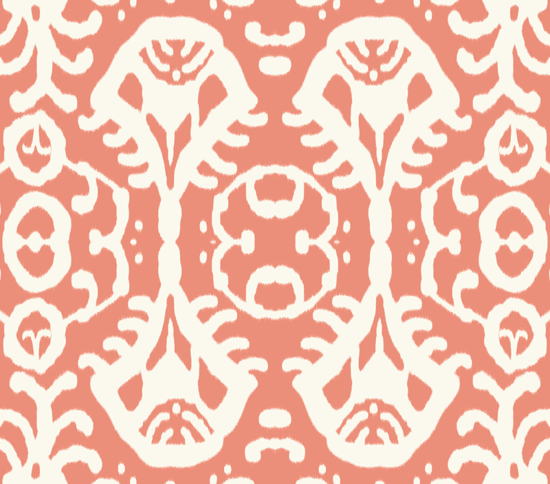 Pics For > Coral Ikat Background