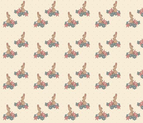 BunnyFabric fabric by meliadawn on Spoonflower - custom fabric