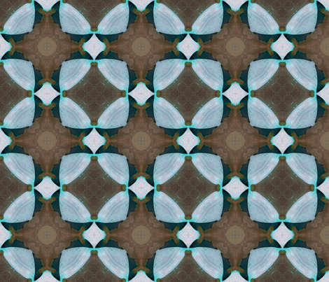 Watercolor Caleidoscope 4 fabric by ravynka on Spoonflower - custom fabric