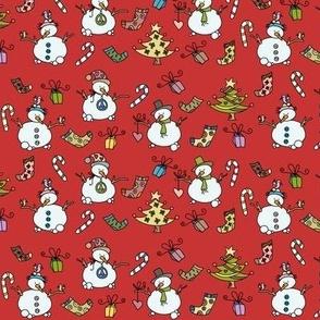 Little xmas snowmen