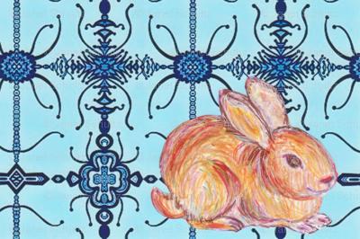 JamJax Blue Bunny