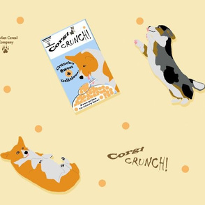 Dancing For Corgi Crunch Cereal