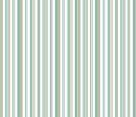 Stripe Stripe (Olive/Turquoise) fabric by designedtoat on Spoonflower - custom fabric