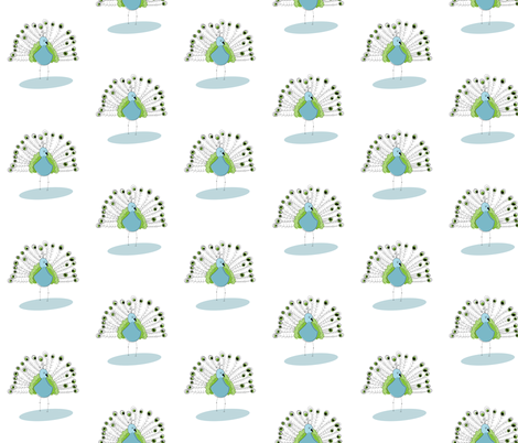 Peacock - Color fabric by meg56003 on Spoonflower - custom fabric