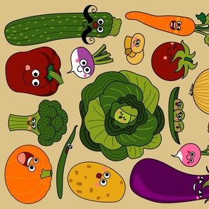 Vegetables Monsters