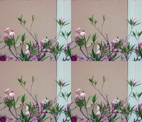 Orleanders fabric by susaninparis on Spoonflower - custom fabric