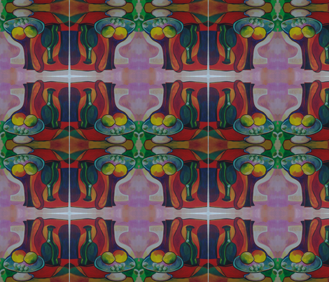 breakfast for two Mg fabric by mg on Spoonflower - custom fabric