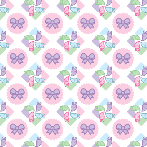 Year of the Bunny fabric by thecuteinstitute on Spoonflower - custom fabric