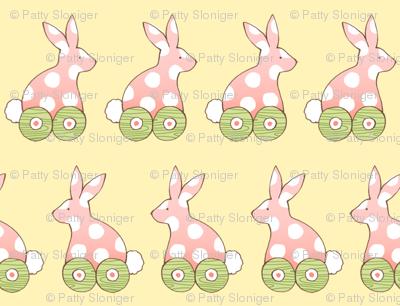 Bunny Wheels - Yellow