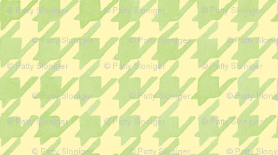 Citrus Houndstooth