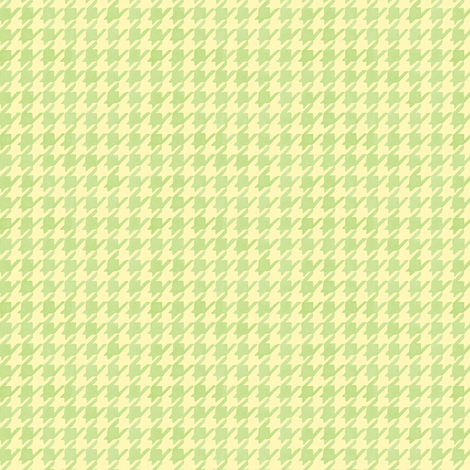 Citrus Houndstooth fabric by pattysloniger on Spoonflower - custom fabric