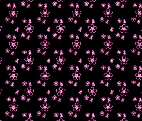 SkullsOnKimono fabric by eerie_doll on Spoonflower - custom fabric