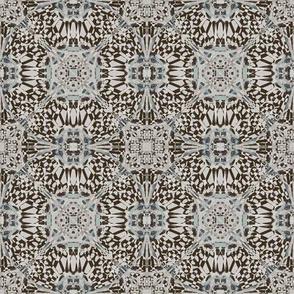 Blue Glass Kaleidoscope