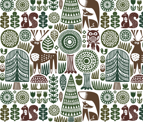 forestspoonflower2dark-04 fabric by dennisthebadger on Spoonflower - custom fabric