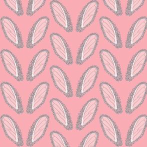 Bunny ears on Pink