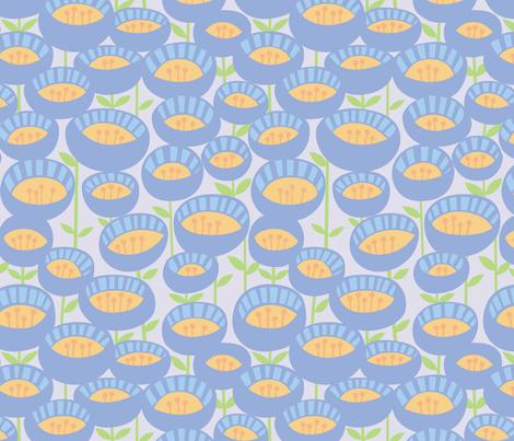 funkyflowers fabric by mrsjellyfish on Spoonflower - custom fabric
