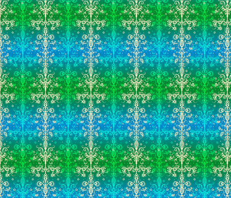 Riverside Lace fabric by siya on Spoonflower - custom fabric