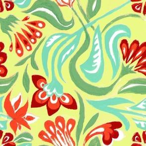 Twirl Vintage Inspired Floral