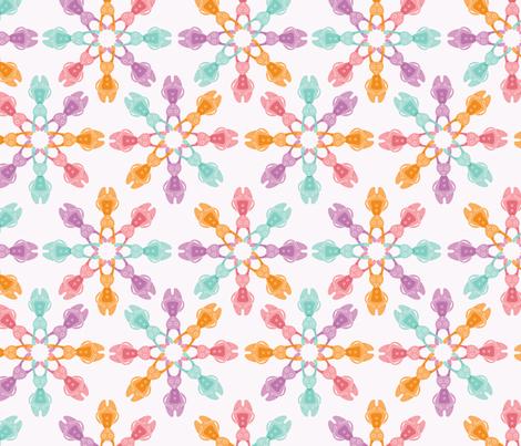 Bubblegum Bunnies fabric by nerida_jeannie on Spoonflower - custom fabric