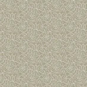 White Tapestry Flowers