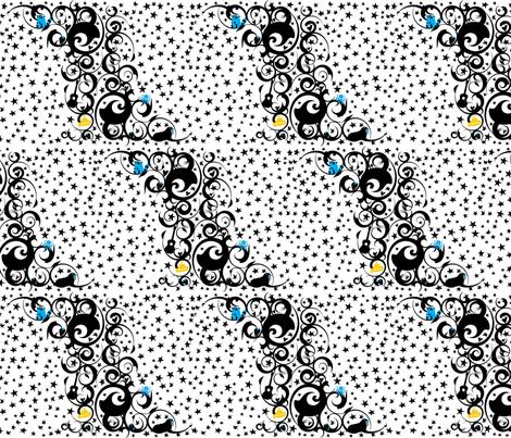 Let It Be Swirls fabric by robyriker on Spoonflower - custom fabric