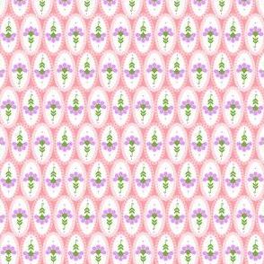 Cleo pastel flowers