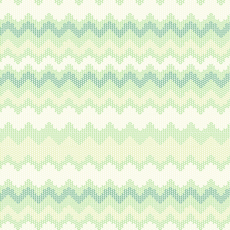 ZIGZAG GREENS fabric by trcreative on Spoonflower - custom fabric
