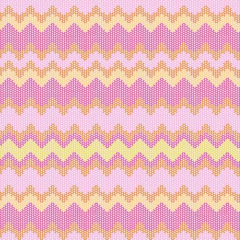 ZIGZAG PINKS fabric by trcreative on Spoonflower - custom fabric