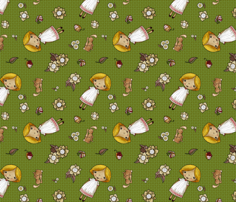 Evi fabric by renule on Spoonflower - custom fabric