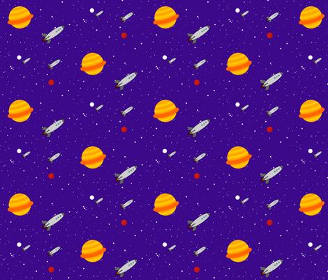 Space Patrol fabric by robyriker on Spoonflower - custom fabric