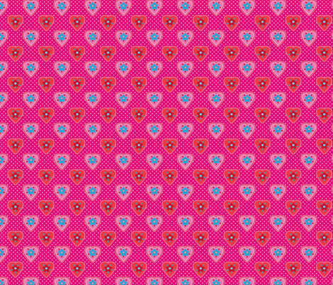 oh_mon_coeur fabric by nadja_petremand on Spoonflower - custom fabric