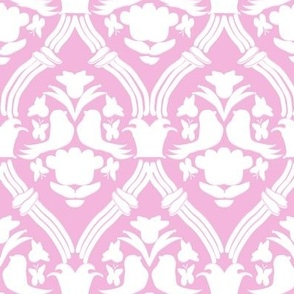 "HAPPY DAMASK in ""PETAL MODERN"""