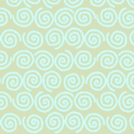 ©2011 Ladies Swirl fabric by glimmericks on Spoonflower - custom fabric