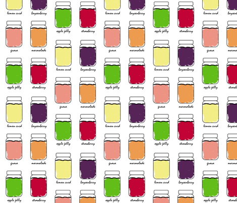 jam fabric by dawnams on Spoonflower - custom fabric