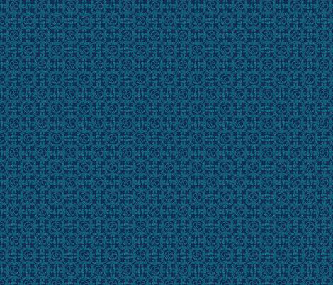 Flying Spaghetti Monster - Blue fabric by pixeldust on Spoonflower - custom fabric