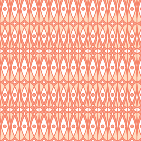 ©2011 Coral  fabric by glimmericks on Spoonflower - custom fabric
