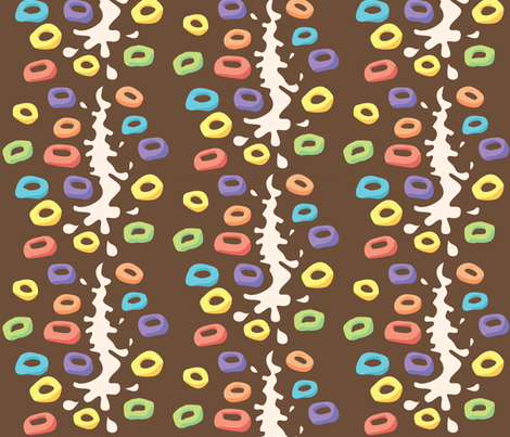 Fruit Loopy Loops fabric by nerida_jeannie on Spoonflower - custom fabric