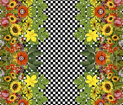 Full Bloom fabric by whimzwhirled on Spoonflower - custom fabric