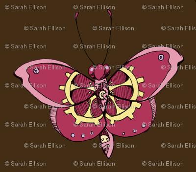 Clockwork Butterfly, Pink