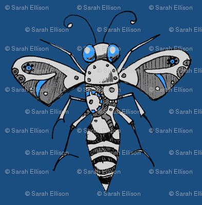 Gear Bee, Blue