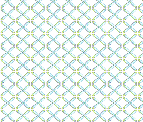 Turtles & Dragonflies fabric by may_flynn on Spoonflower - custom fabric