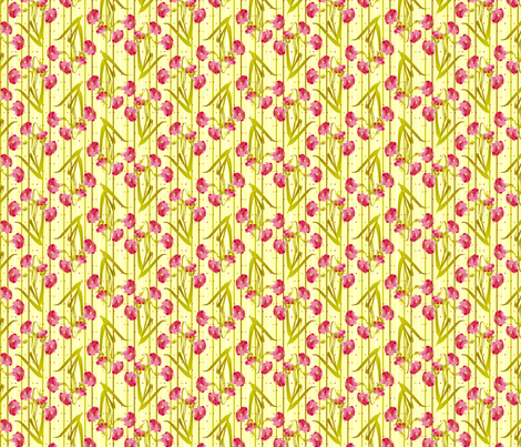 ©2011 pink lily fabric by glimmericks on Spoonflower - custom fabric
