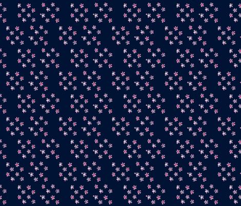 Pretty_Little_Flowers fabric by may_flynn on Spoonflower - custom fabric
