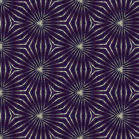 dark blue white geometric fabric by heikou on Spoonflower - custom fabric
