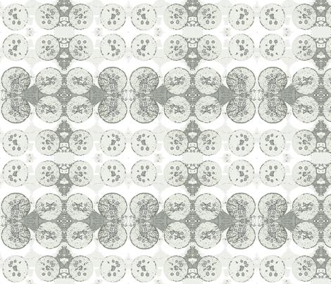 Tangerine dots fabric by nikotina on Spoonflower - custom fabric